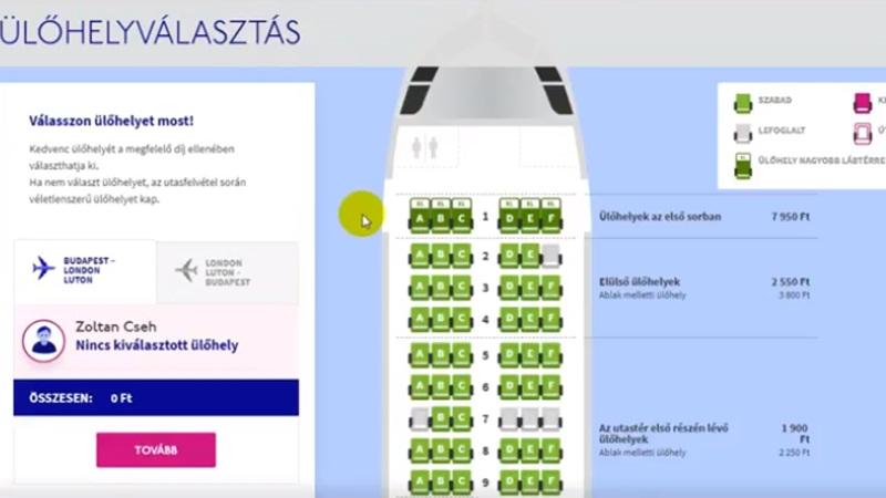 Így vásárold meg a repülőjegyedet a Wizzair oldalán